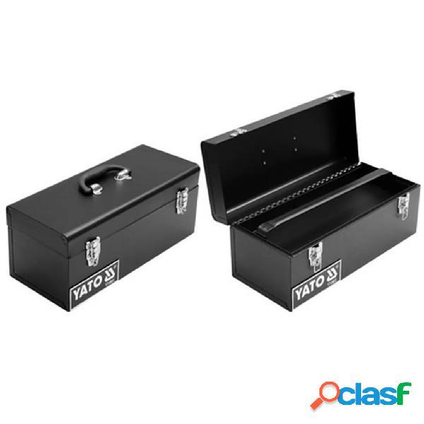 YATO Caja de herramientas de acero 428x180x180 mm