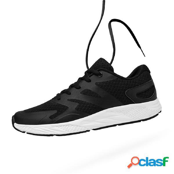 YUNCOO Zapatillas de deporte ultraligeras para hombre