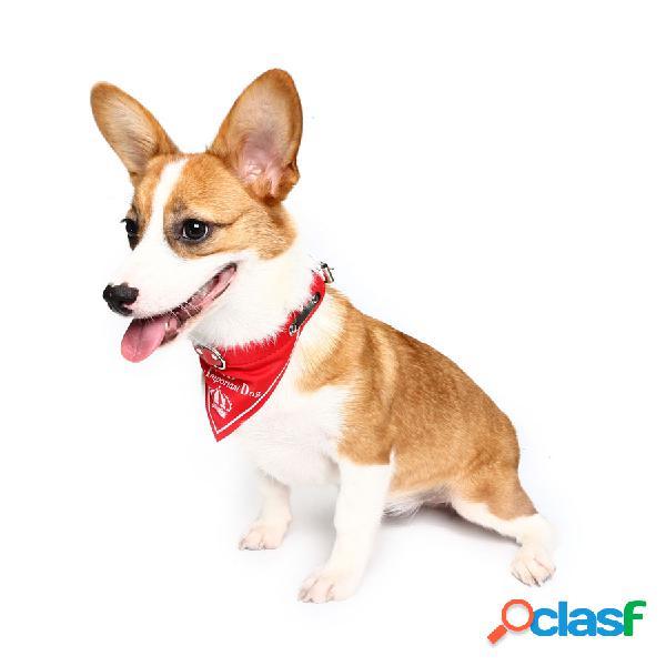 Yani HG-PLJ1 Pet Dog Red Imperial Crown Collares ajustables