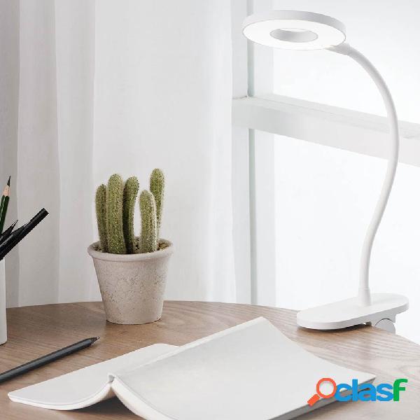 Yeelight LED USB Clip de escritorio recargable Luz de mesa