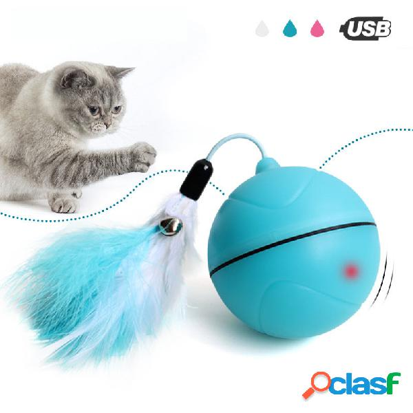 Yooap Creative Gato Toys Interactive Automatic Rolling Ball