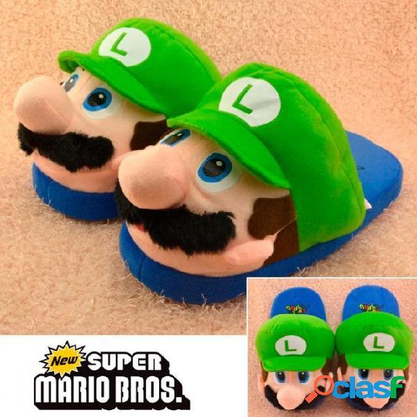 Zapatillas Luigi Super Mario