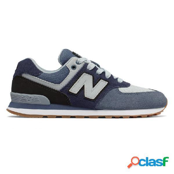 Zapatillas New Balance Gc574 Pigmento Negro 38 Azul/negro