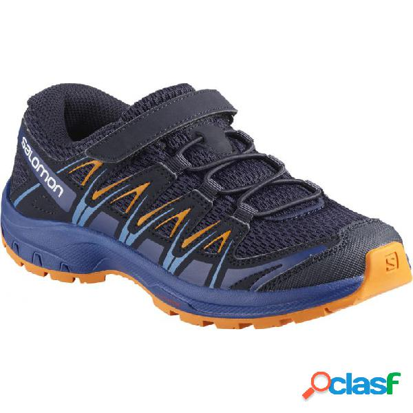 Zapatillas Salomon Xa Pro 3d K Niños Azul Naranja 30