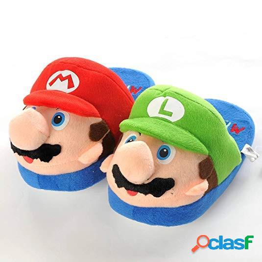 Zapatillas Super Mario y Luigi Super Mario