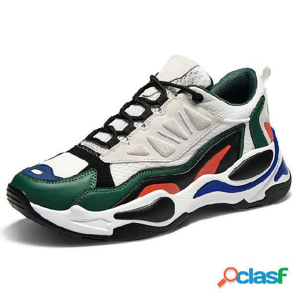 Zapatillas de deporte deportivas transpirables para hombres