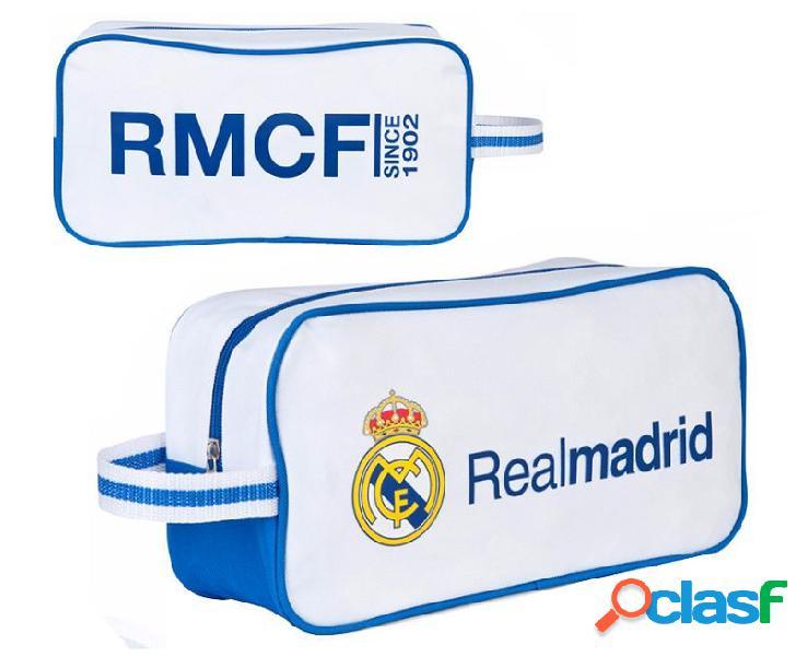 Zapatillero infantil Real Madrid blanco