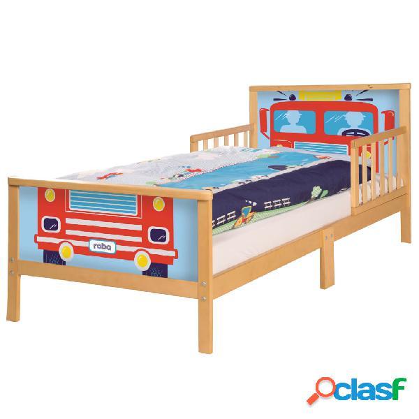roba Cama para niños Car madera 145x75x63 cm
