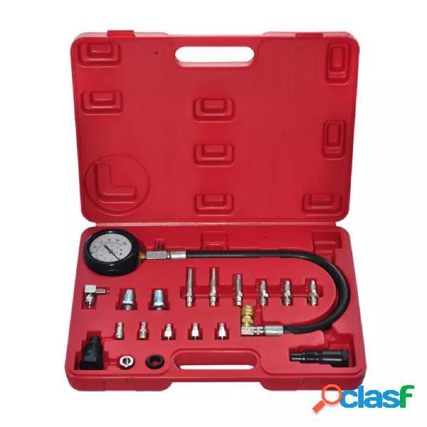 vidaXL 20-pieza de prueba de compresión del motor diesel