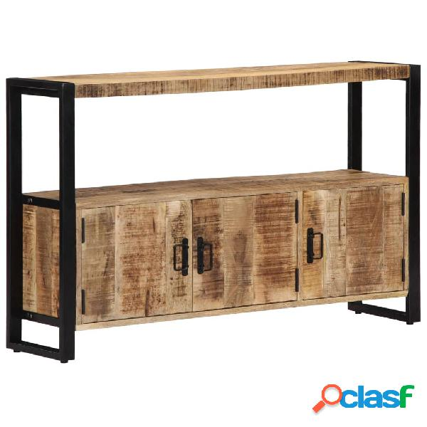 vidaXL Aparador 120x30x75 cm madera maciza de mango