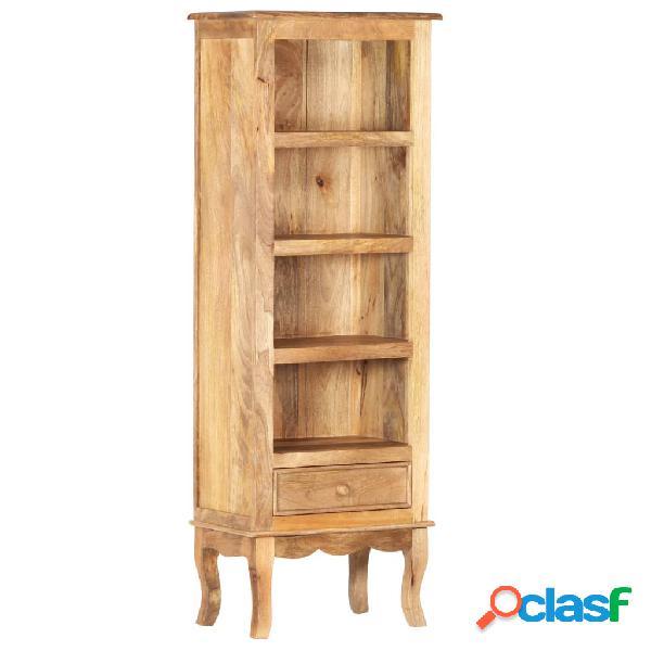 vidaXL Aparador de madera maciza de mango 45x30x130 cm