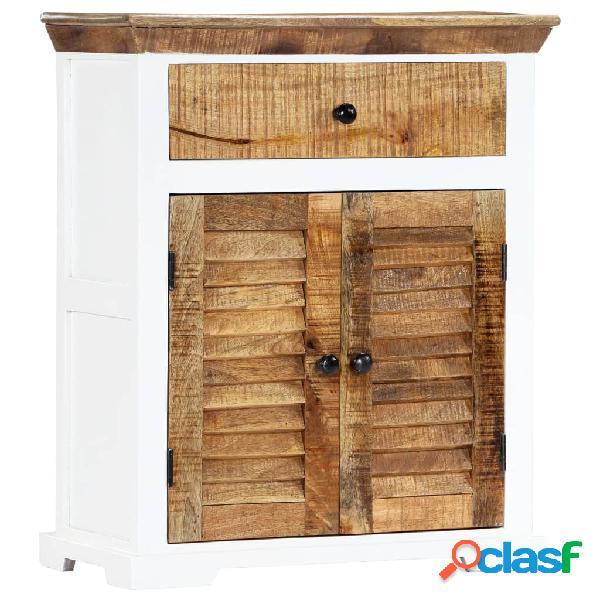vidaXL Aparador de madera maciza de mango 65x30x75 cm