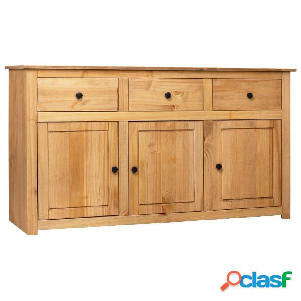 vidaXL Aparador de madera maciza de pino estilo Panamá