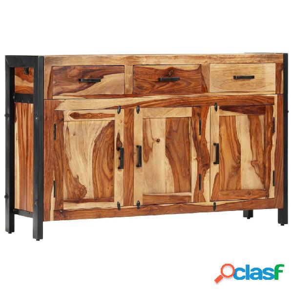 vidaXL Aparador de madera maciza de sheesham 110x35x75 cm