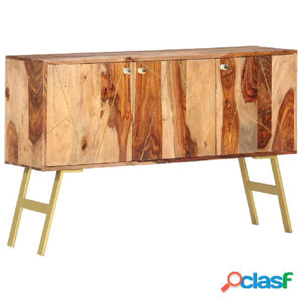 vidaXL Aparador de madera maciza de sheesham 118x30x75 cm