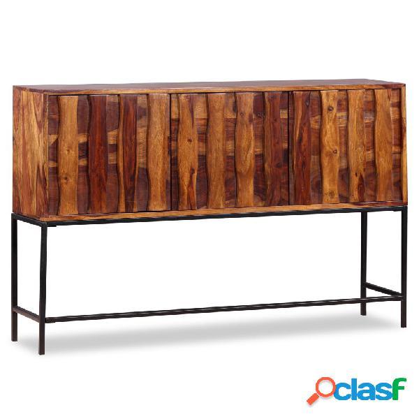 vidaXL Aparador de madera maciza de sheesham 120x30x80 cm