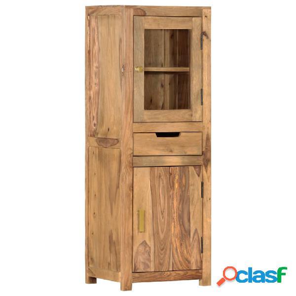 vidaXL Aparador de madera maciza de sheesham 40x34x114 cm