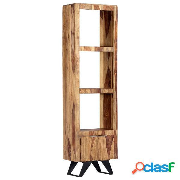 vidaXL Aparador de madera maciza de sheesham 45x28x180 cm