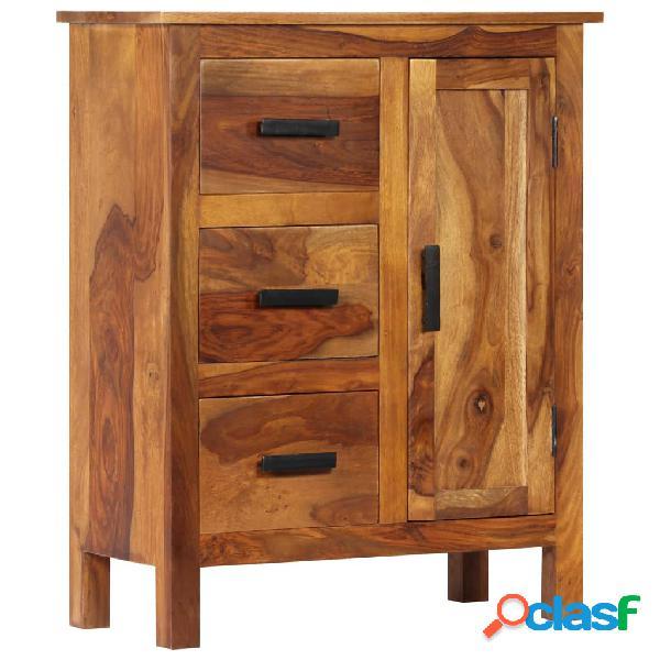 vidaXL Aparador de madera maciza de sheesham 65x30x80 cm