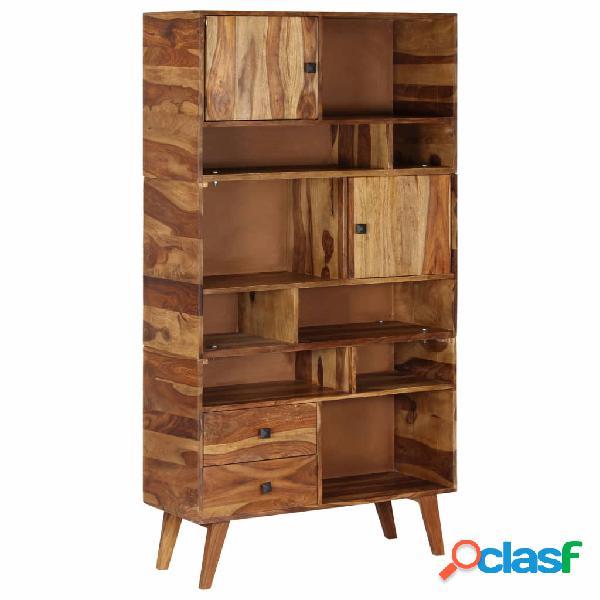 vidaXL Aparador de madera maciza de sheesham 90x35x170 cm
