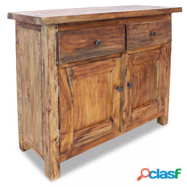 vidaXL Aparador de madera maciza reciclada 75x30x65 cm