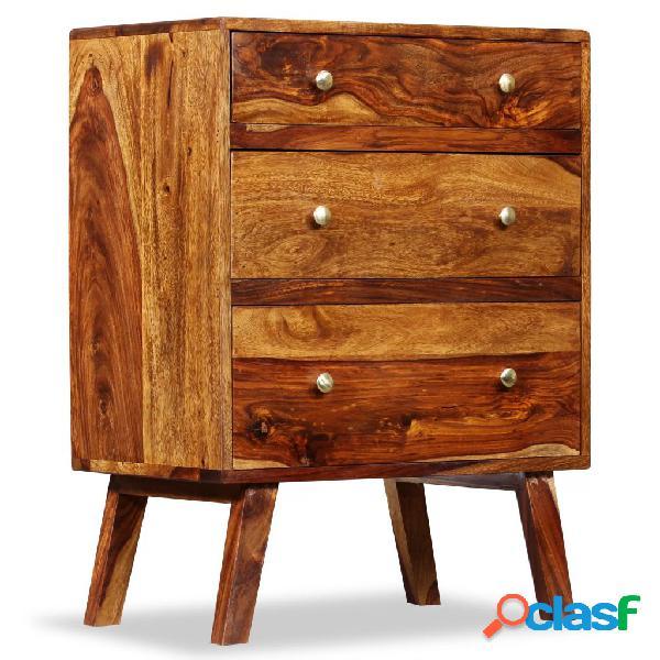 vidaXL Armario auxiliar de madera maciza de sheesham