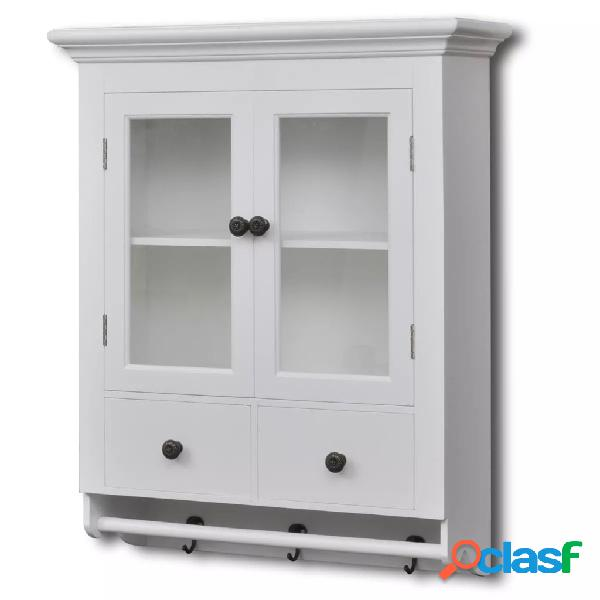 vidaXL Armario de cocina de pared de madera y puerta de