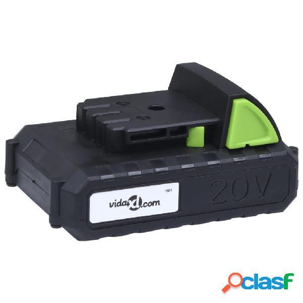 vidaXL Batería de ion-litio 20 V 1500 mAh