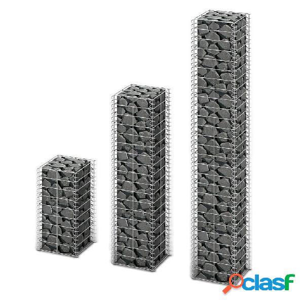 vidaXL Cestas de muro de gaviones alambre galvanizado 3