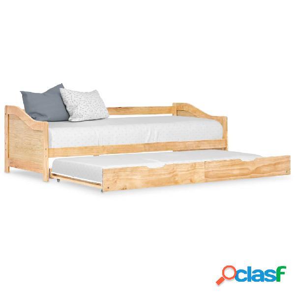 vidaXL Estructura de sofá cama extraíble madera de pino