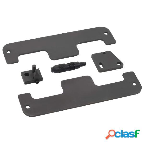 vidaXL Herramientas de sincronización de motor 5 piezas