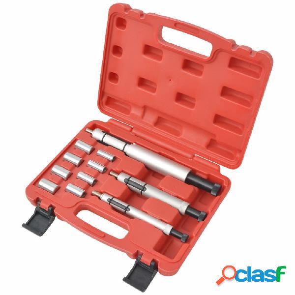 vidaXL Juego de herramientas de 11 piezas para alinear el