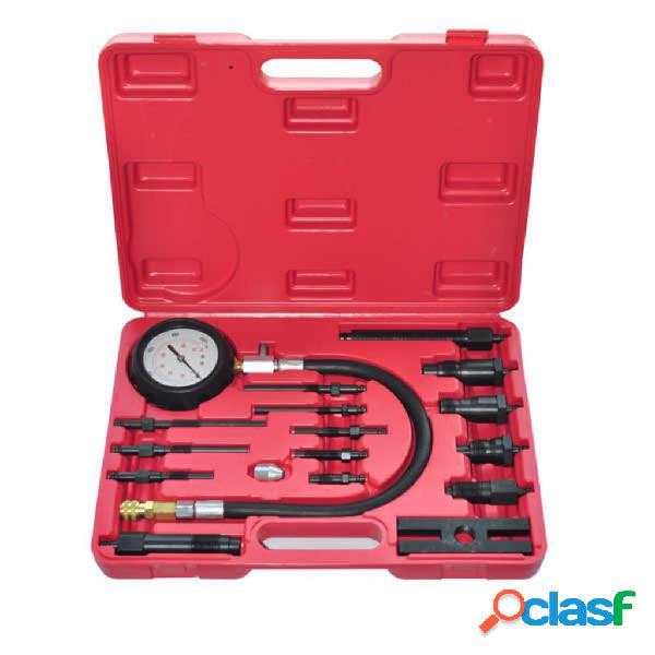vidaXL Kit comprobador de compresión de motor de diesel 17