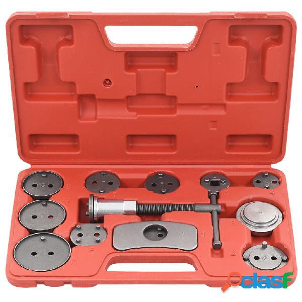vidaXL Kit de herramientas retroceso pinza de freno de disco