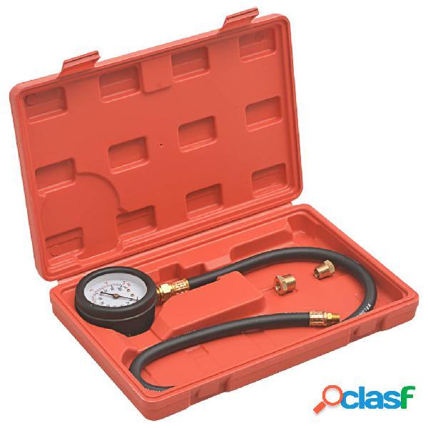 vidaXL Kit de medición de presión de combustible