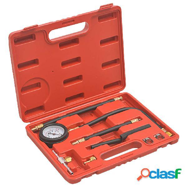 vidaXL Kit de verificación de presión diésel y gasolina