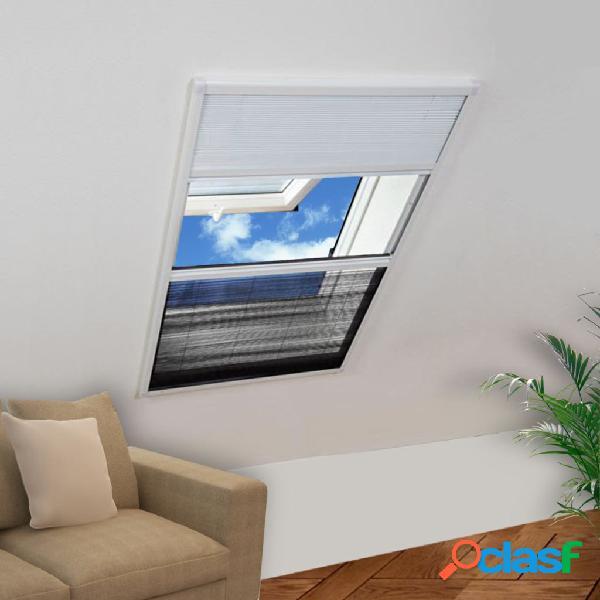 vidaXL Mosquitera Para Ventana Marco De Aluminio 160 x 80 cm