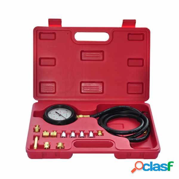 vidaXL Motor de diesel Kit de prueba de presión de aceite