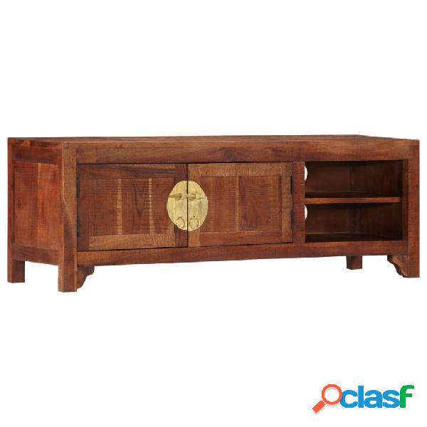 vidaXL Mueble para TV 120x30x40 cm madera maciza de acacia