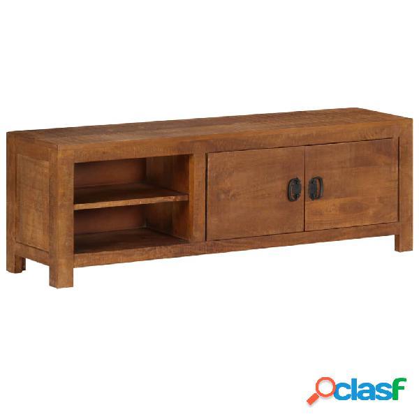 vidaXL Mueble para TV 120x40x30 cm madera maciza de mango
