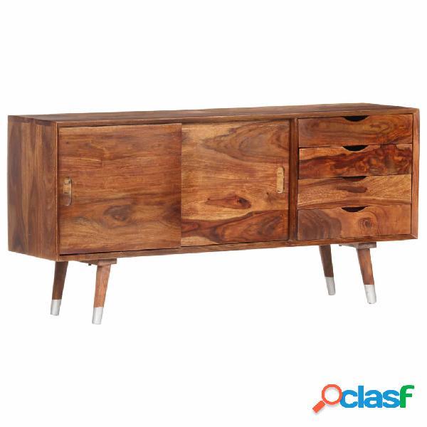vidaXL Mueble para TV de madera maciza de sheesham 118x30x55