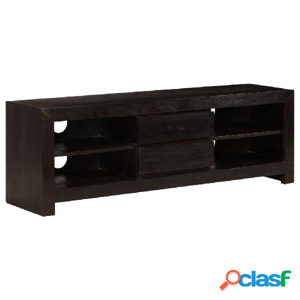 vidaXL Mueble para TV madera maciza acacia 120x30x40 cm