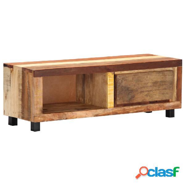 vidaXL Mueble para la TV 100x30x33 cm madera maciza