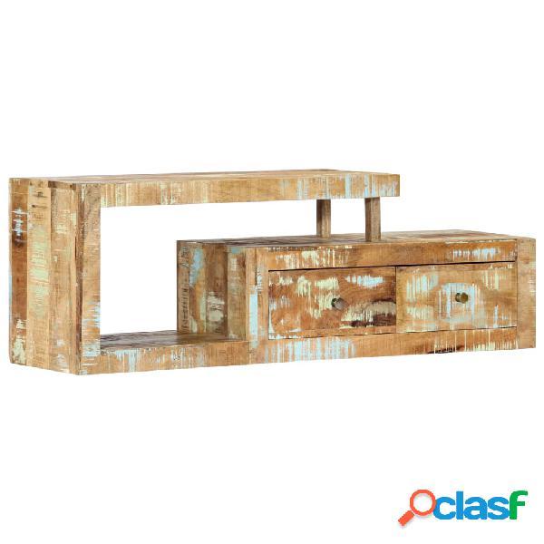 vidaXL Mueble para la TV 120x30x40 cm madera maciza
