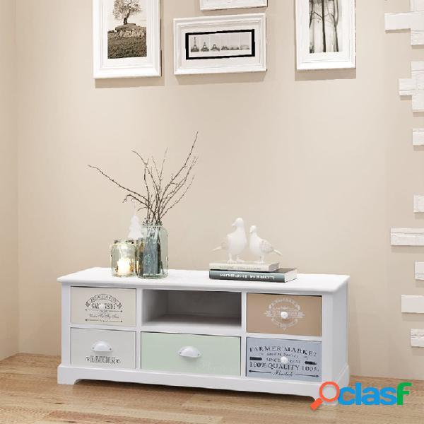 vidaXL Mueble para la TV de estilo francés de madera