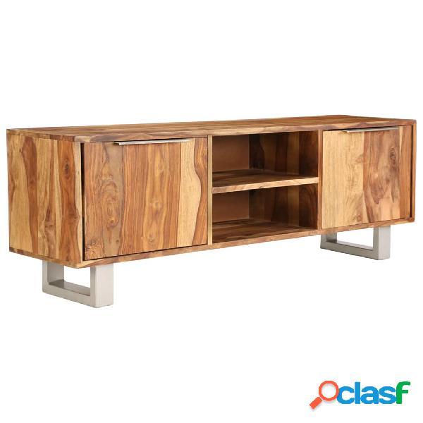 vidaXL Mueble para la TV madera de sheesham acabado miel