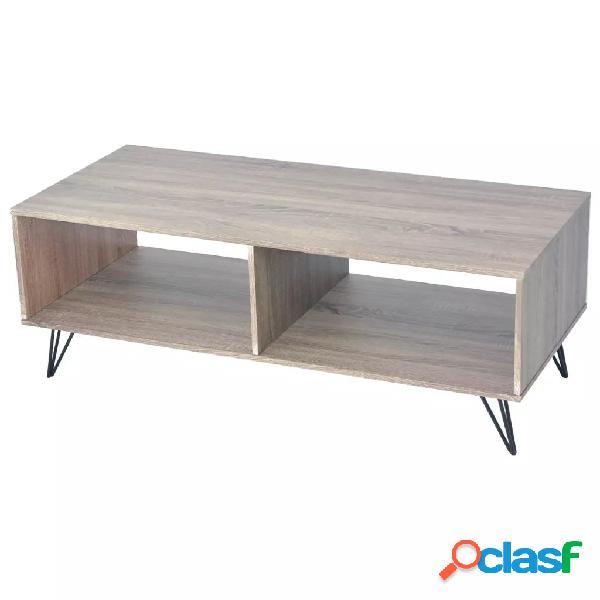 vidaXL Mueble para la televisión/mesa de centro 110x50x40