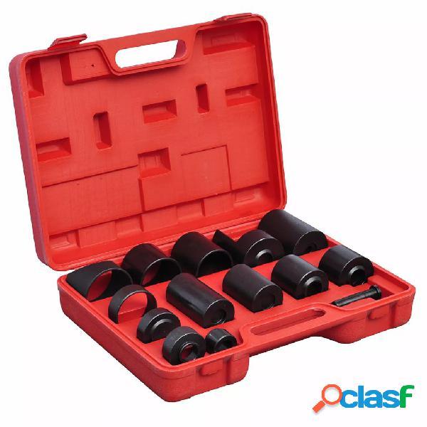 vidaXL Set de adaptador de rotula, 14 piezas