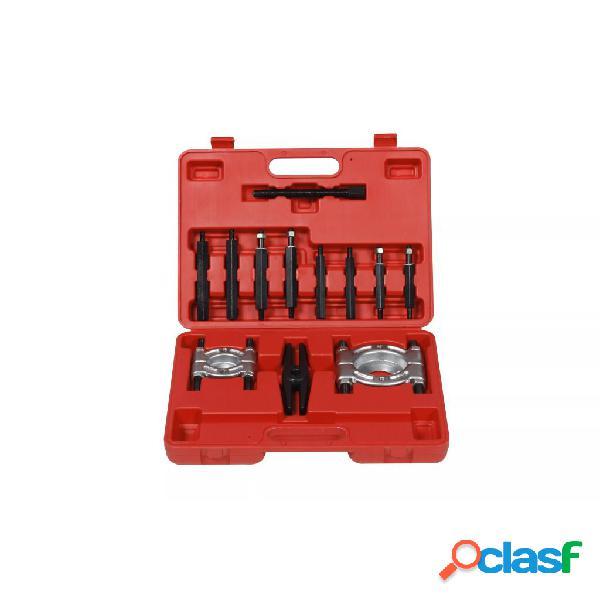 vidaXL Set extractor de rodamientos y tirador de engranaje