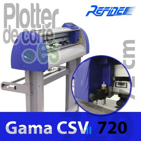 Plotter de corte Refine CSV720II Servo motor